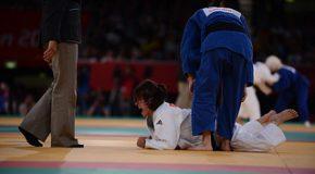 Judo : Le rêve envolé de Sandrine Aurières-Martinet