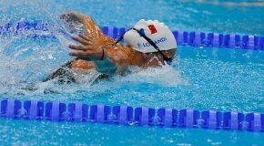 Natation : Le bronze va bien à Elodie Lorandi