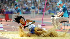 Athlétisme : L'argent triste d'Arnaud Assoumani