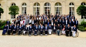 Les équipes de France Paralympique et Olympique reçues à l'Élysée