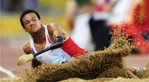 Athlétisme : Arnaud Assoumani triple sauteur argenté