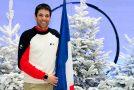 Vincent Gauthier Manuel, porte drapeau de l'Equipe de France à Sotchi