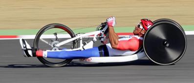 De l'OR pour le cyclisme handisport
