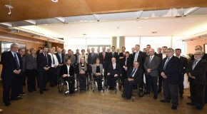 Le président de l'IPC Sir Philip Craven reçu en France