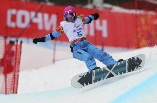 L'élite du para-snowboard à la Molina !