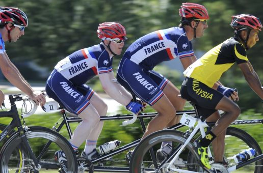 En piste pour les Mondiaux de Cyclisme !