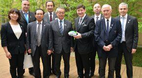 Le CPSF au cœur du déplacement au Japon du ministre chargé des sports Patrick Kanner