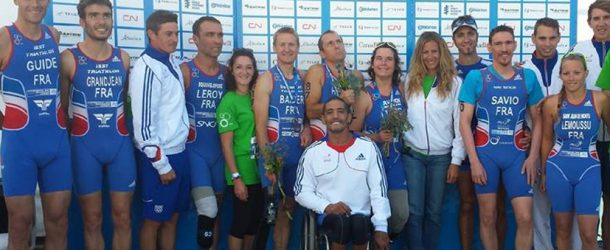 Europe de paratriathlon, top départ !