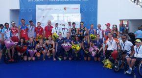 Europe de Paratriathlon, deux médailles pour le camp tricolore !