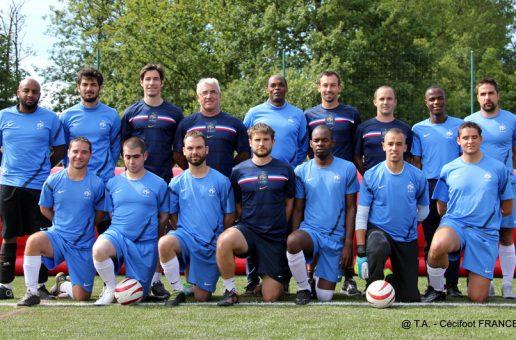 Cécifoot, les Bleus à l'épreuve de Hereford pour rejoindre Rio !