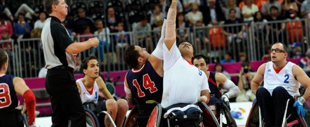 Rugby Fauteuil, objectif Rio !