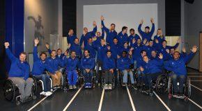 Regroupement paralympique – les médaillés mondiaux et leur encadrement au Musée National du sport à Nice !