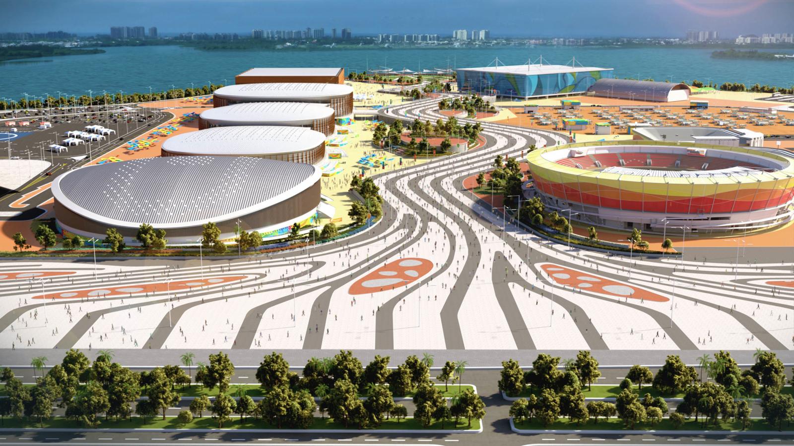 Image Parc Olympique de Barra 3D