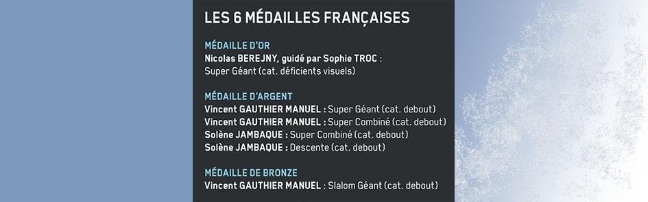 Image de la liste des médaillés