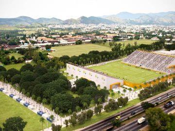 Image du stade de Deodoro