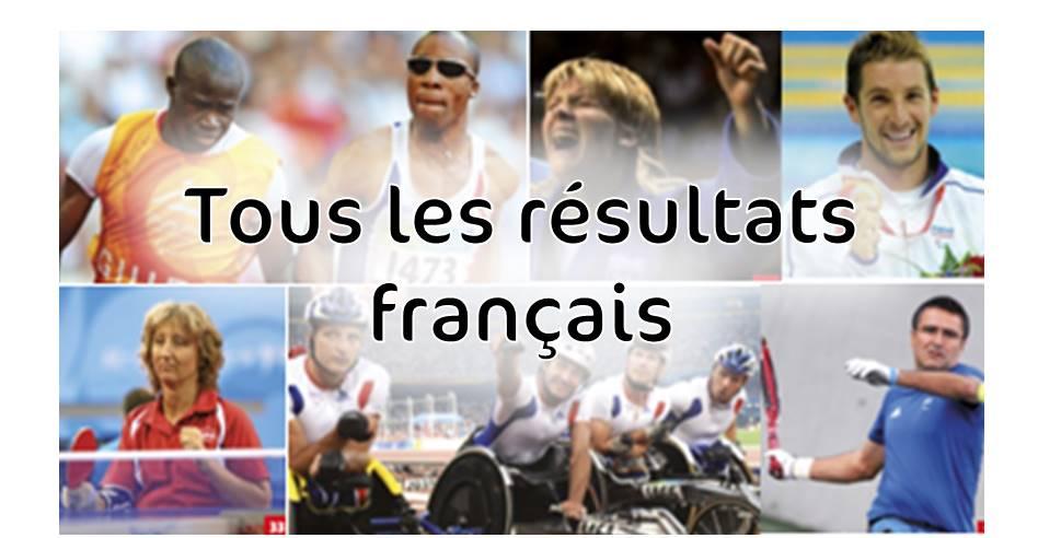 Lien vers résultats des français Pékin