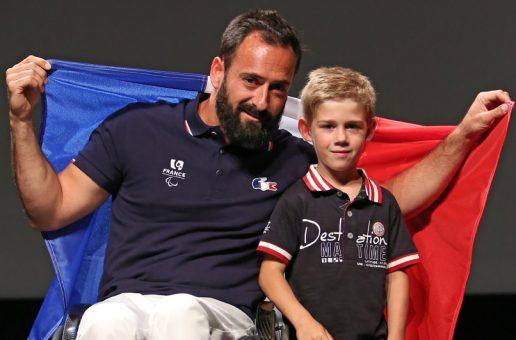 Rencontre avec Michaël Jérémiasz, porte drapeau paralympique