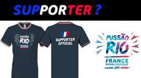 Supporter ? Commandez votre tee-shirt officiel MissãoRio2016 !