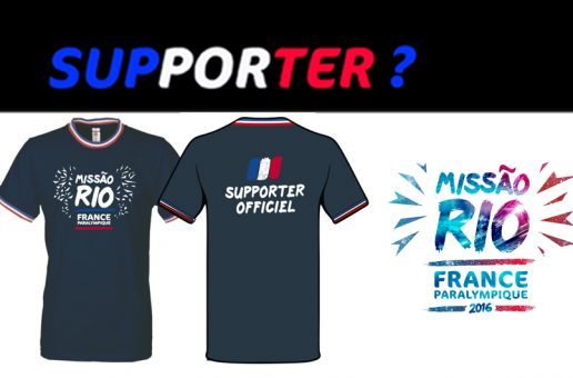 Supporter ? Commandez votre tee-shirt officiel MissãoRio2016 !