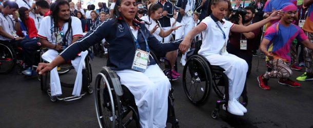 Cérémonie d'accueil au Village Paralympique