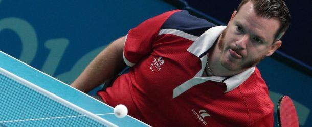 Tennis de table : le goût du bronze pour Florian Merrien
