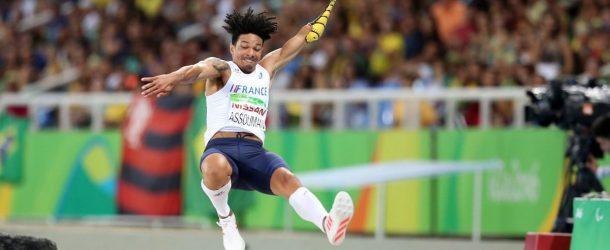 Un saut en bronze pour Arnaud Assoumani
