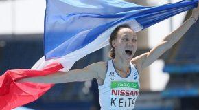 Athlétisme : Nantenin Keita vole vers l'or !