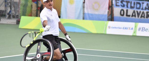 Tennis: Stéphane Houdet s'incline en 1/2 finale