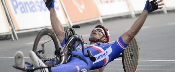 Joël Jeannot conclut sa carrière paralympique en bronze