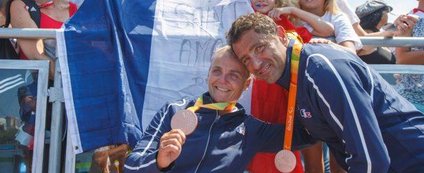 Aviron: Perle et Stéphane en bronze !