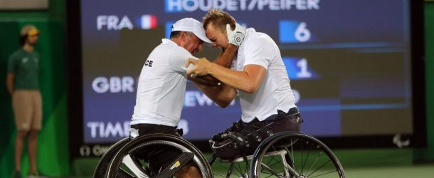 Tennis: Houdet et Peifer champions Paralympiques