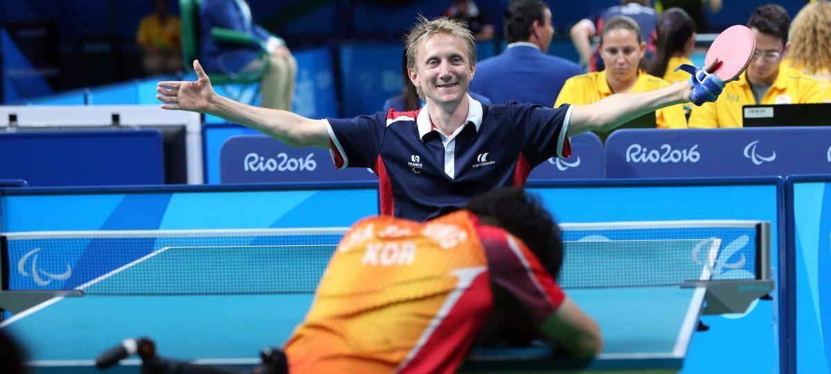 France paralympique comit paralympique sportif fran ais tennis de table par quipe - Equipe de france de tennis de table ...