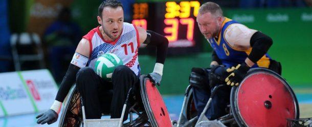 Rugby fauteuil : Déception coté français
