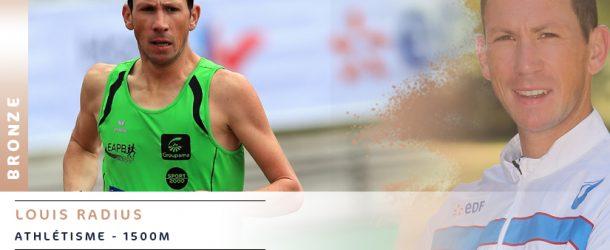Athlétisme : Bronze pour Louis Radius