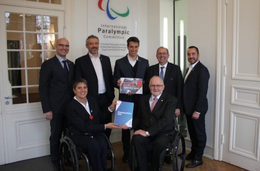 Présentation du dossier #Paris2024 au Comité Paralympique International !