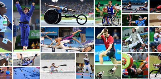 CALENDRIER 2017 > Championnats du monde & d'europe des disciplines paralympiques