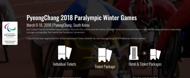 Billetterie PyeongChang 2018 : Vivez les Jeux Paralympiques !