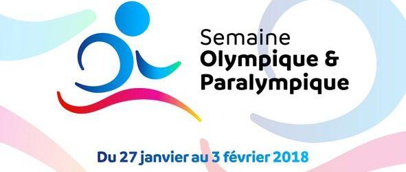 Semaine Olympique et Paralympique 2018