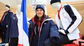 Marie BOCHET : Flag bearer of the French Paralympic Team for PyeongChang 2018 !