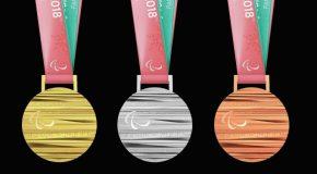 Les médailles paralympiques de PyeongChang2018 : entre élégance et tradition