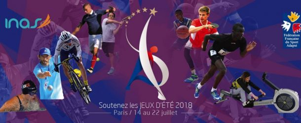 Paris accueille les INAS Summer Games 2018