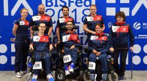 Boccia : première sortie mondiale pour nos tricolores !