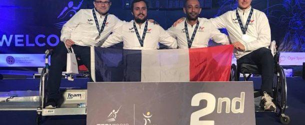 4 médailles aux Championnats d'Europe d'escrime fauteuil