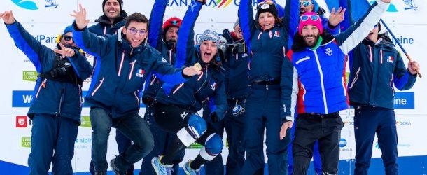 Le para ski français sur le toit du monde !