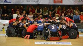 Rugby fauteuil : la France en Bronze aux Europe