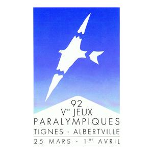 Comité Sportif et Paralympique Français - Tignes Albertville - 1992